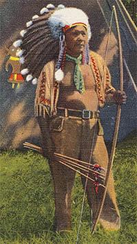 Chief Standing Deer of the North Carolina Cherokee