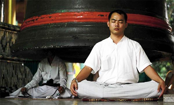 meditation can help with balancing the chakras