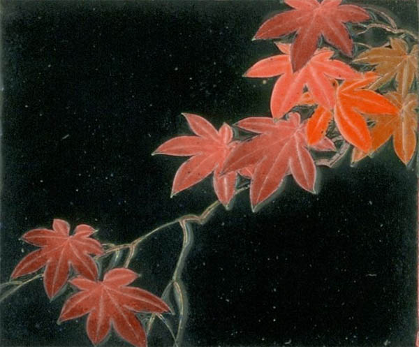 red falling leaves spiritual meaning omens